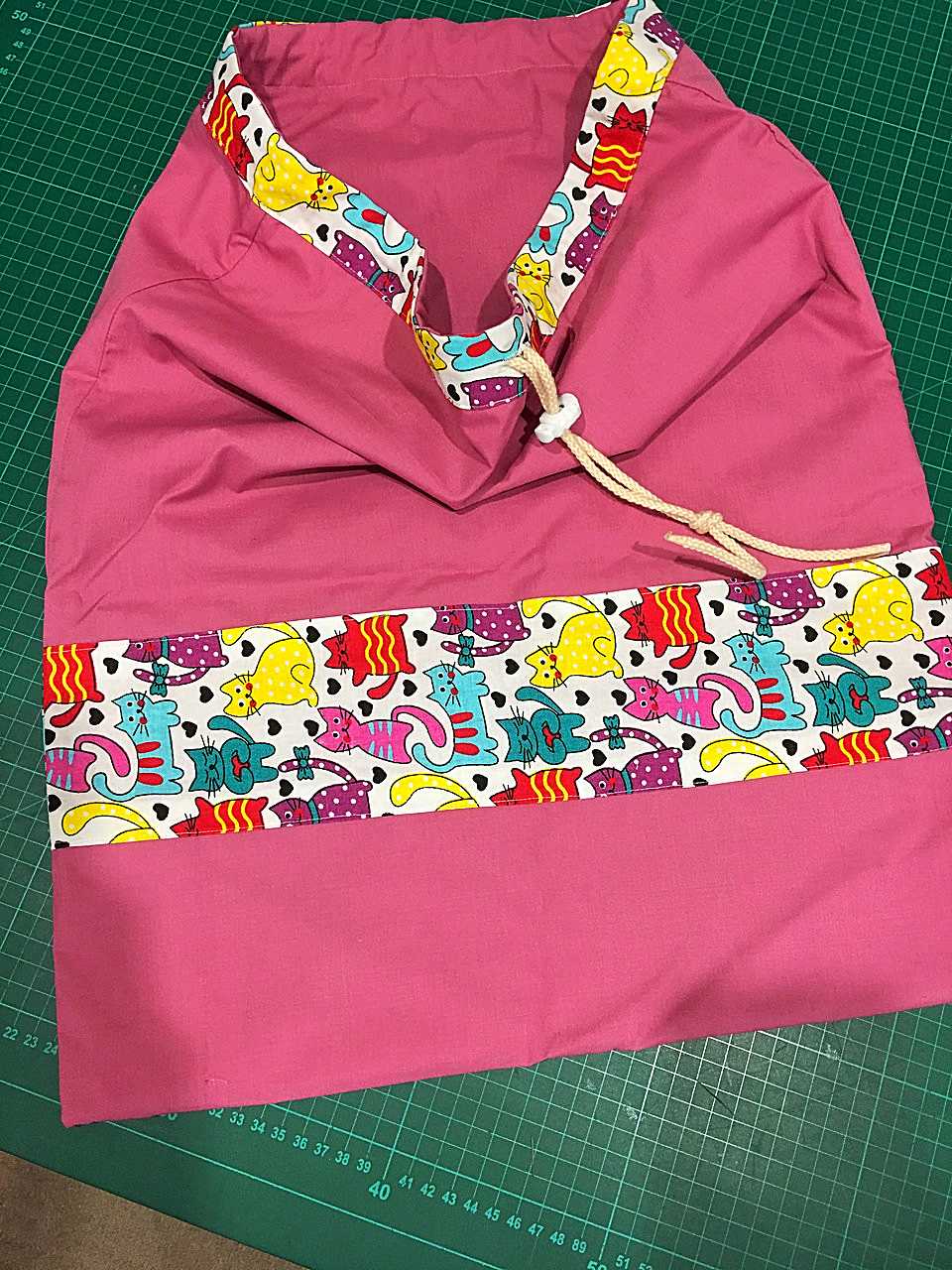 Sheet or library bags for school kids