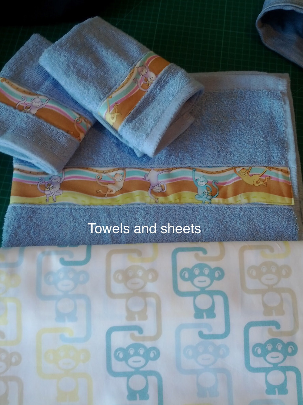 Personalised baby towels sheets baby shower gifts