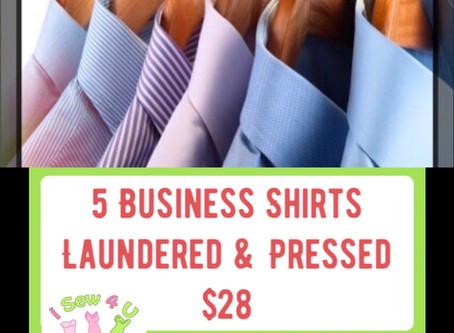 BUSINESS SHIRT SERVICE