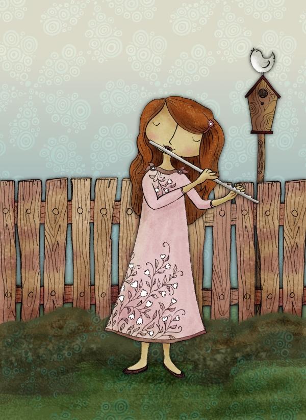 Lucie hraje píseň znovuzrození