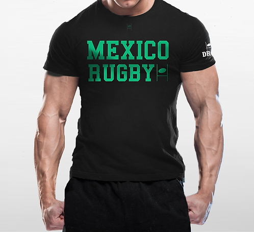 México (1%) Negra t-shirt