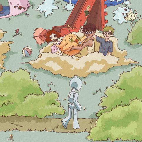 Pop-up Book Illustrations