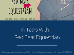 In Talks With.....Red Bear Equestrian