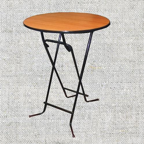 Стол коктейльный выс. d 0,7-0,8 м., H 1,1 м.