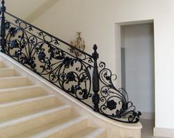 Кованная лестница 2010 год. (2)