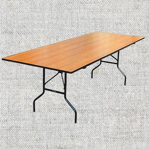 Стол прямоугольный 184х76 см.