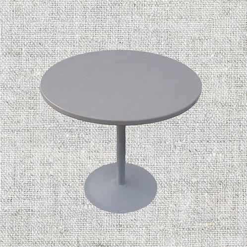 Стол коктейльный низкий d 0,7-0,8 м., H 0,75 м.
