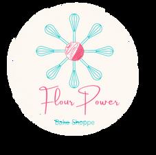 Flour Power Bake Shoppe Logo