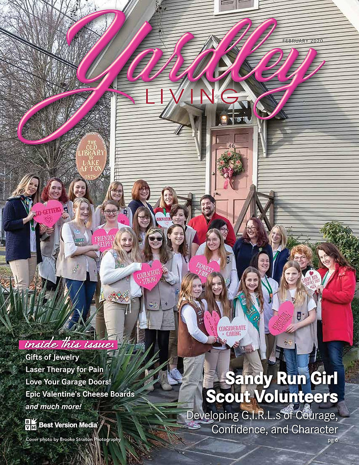Sandy Run Girl Scout Article & Cover-pag