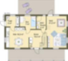 Planlösning Villa Ekholmen