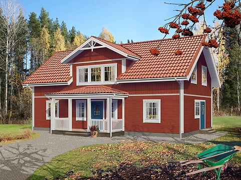 Ekoln Falurött hus