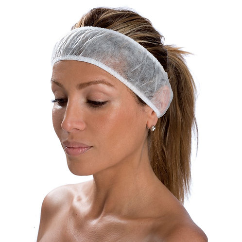 Disposable Headband 100 Pack