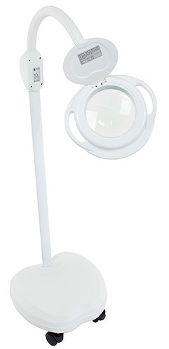 MAGNIFYING LAMP WITH GOOSE NECK