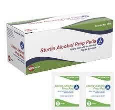 70% Alcohol Prep Pad