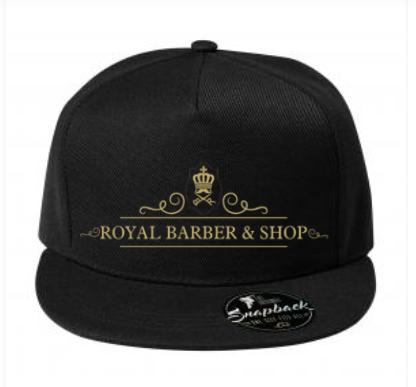 Kšiltovka Snapback Royal Barber
