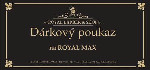 Dárkový poukaz Royal Barber Shop Royal Max