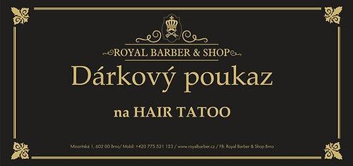 Dárkový poukaz Hair tattoo