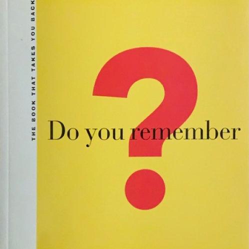 Do You Remember by Michael Gitter