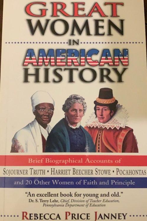 Great Women in American History by Rebecca Price Janney