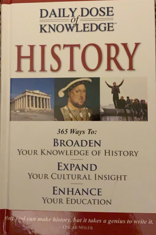 Daily Dose of Knowledge History