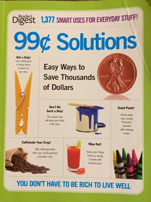 99¢ Solutions by Readers Digest
