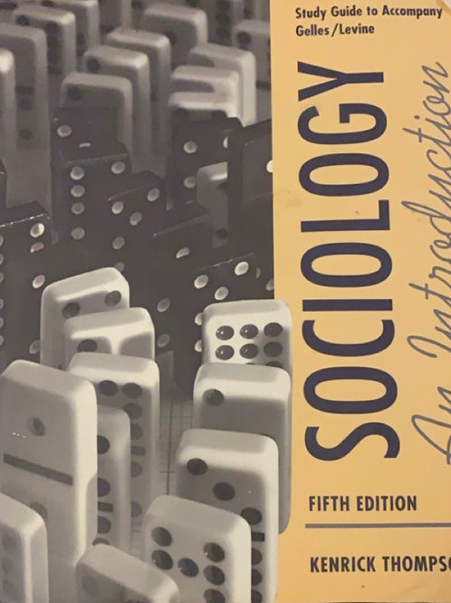 Sociology: An Introduction by Kendrick Thompson