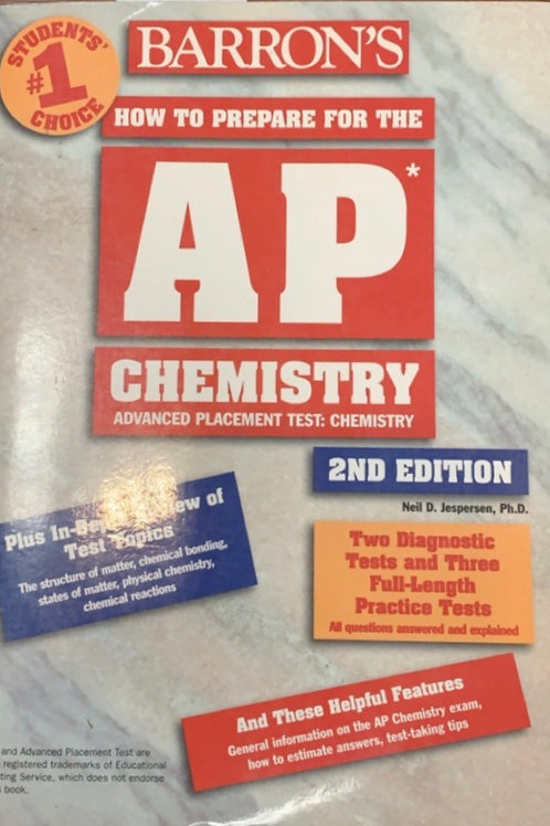 Barron's How to Prepare for the AP Chemistry