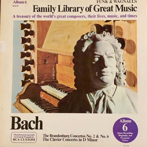 Family Library of Great Music Bach