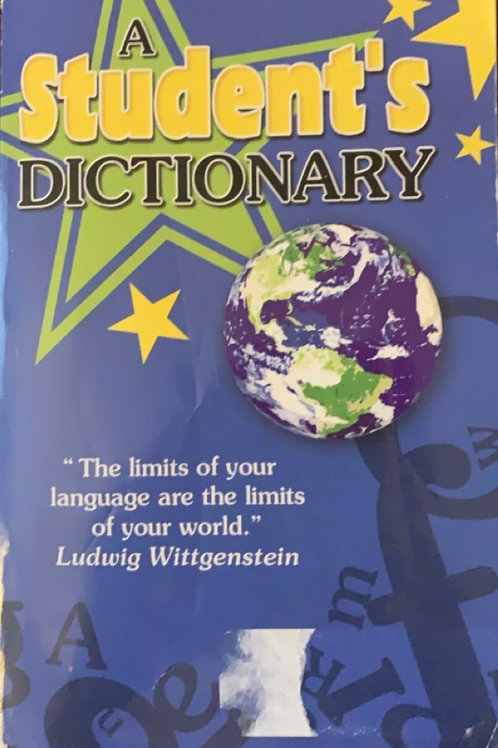 A Student's Dictionary