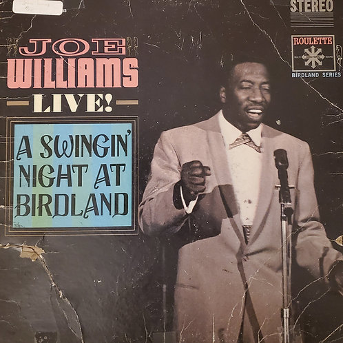 Joe Williams Live! : A swinging night at Birdland