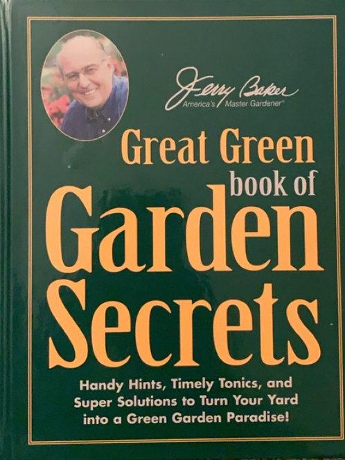 Great Green Book of Garden Secrets by Jerry Baker