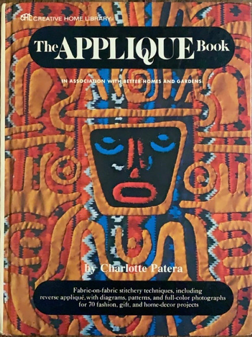 The Appliqué Book by Charlotte Patera
