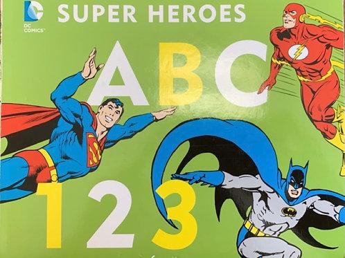 Super Heroes ABC123