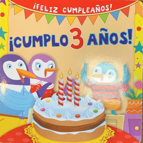 ¡Cumplo 3 Años! By Silvia D'Achille