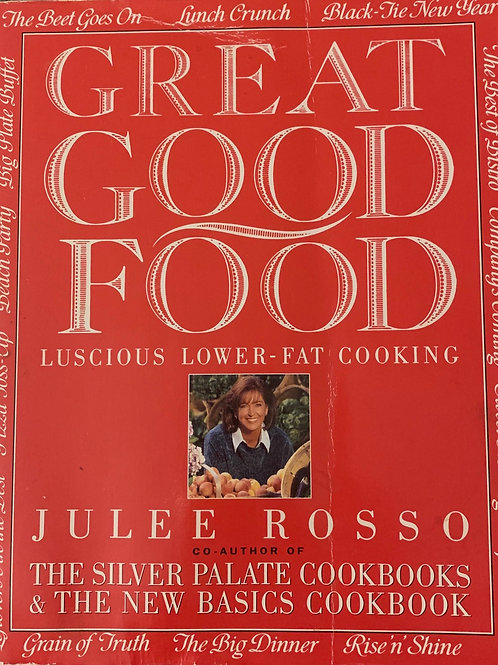 Great Good Food By Jules Rosso