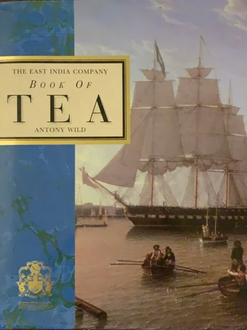 Book of Tea by Antony Wild