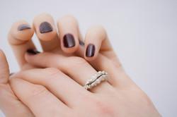 London Ring Silver