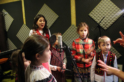 Анжеліка Рудницька і дитячий хор