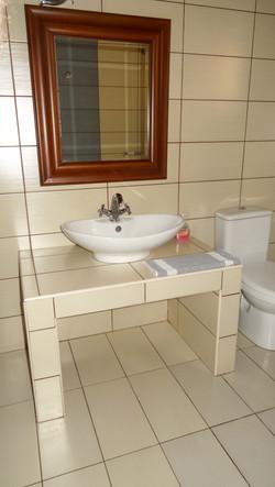 3 separate modern bathrooms