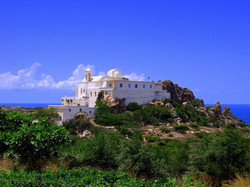 Impressive monastery Chrisoskalitisa