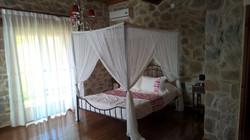 Spacious sleeping rooms