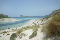 Balos bay: dreams in turquoise