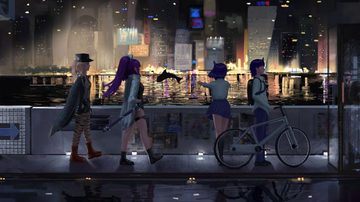 Community Art - Life Needs a Little Sin