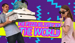 The Pizza Delivery Boy Who Saved the World - Review