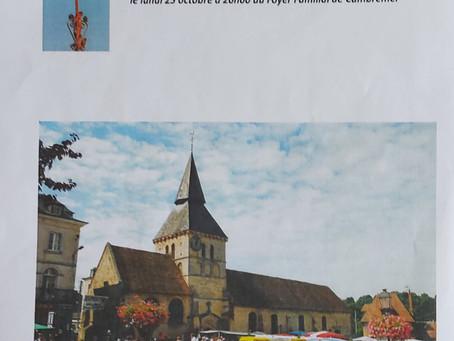 25 octobre 2021 : sauvegarde et animation de l'Église Saint-Denis de Cambremer