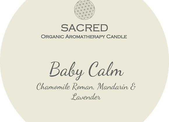 BABY CALM- Mason Jar Candle