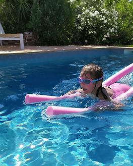 Cours de natation Sainte maxime. Témoignage de morgan natation