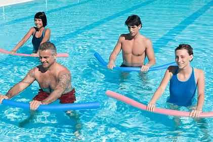 Cours Aquagym en piscine Adultes Seniors Sainte-Maxime Var France