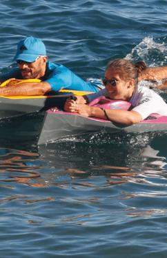 Randonnée palmée en mer avec Morgan natation Sainte-Maxime Saint-Tropez