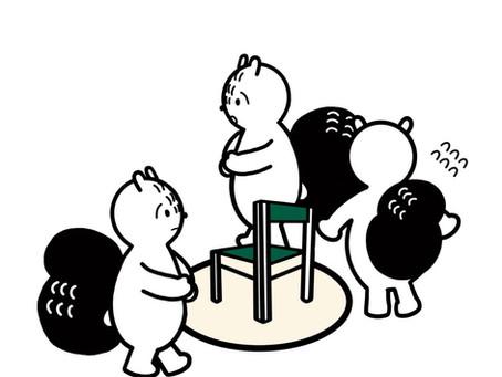누가누가 의자에 앉을까?